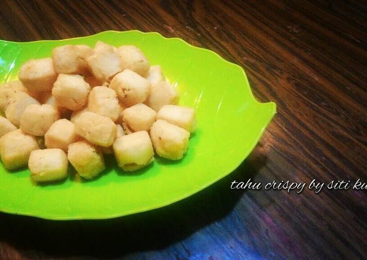 Resep Tahu crispy