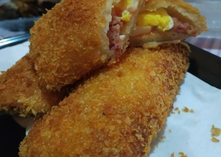 Resep Risol mayo kulit roti tawar