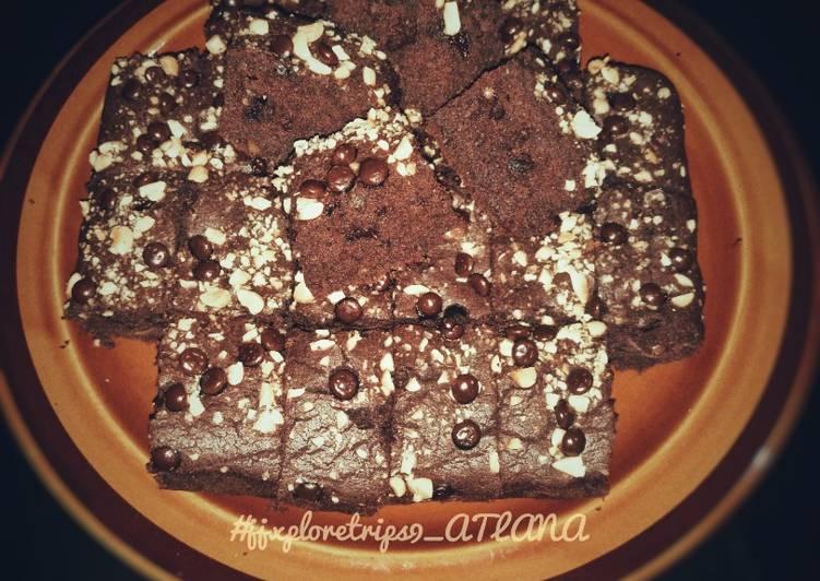 Resep Cakey Choconut Brownies