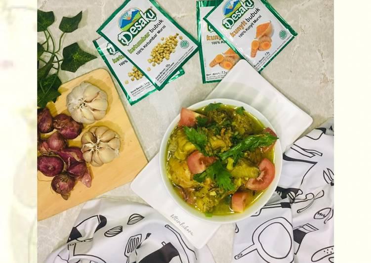 Resep 2Soto Ayam Simple#ComboNgabibita_Dikuahin