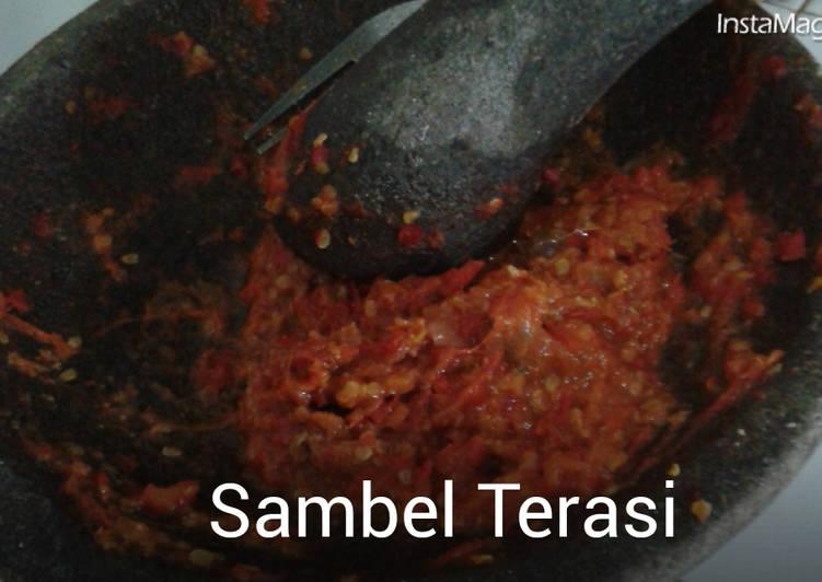 Resep Sambel Terasi