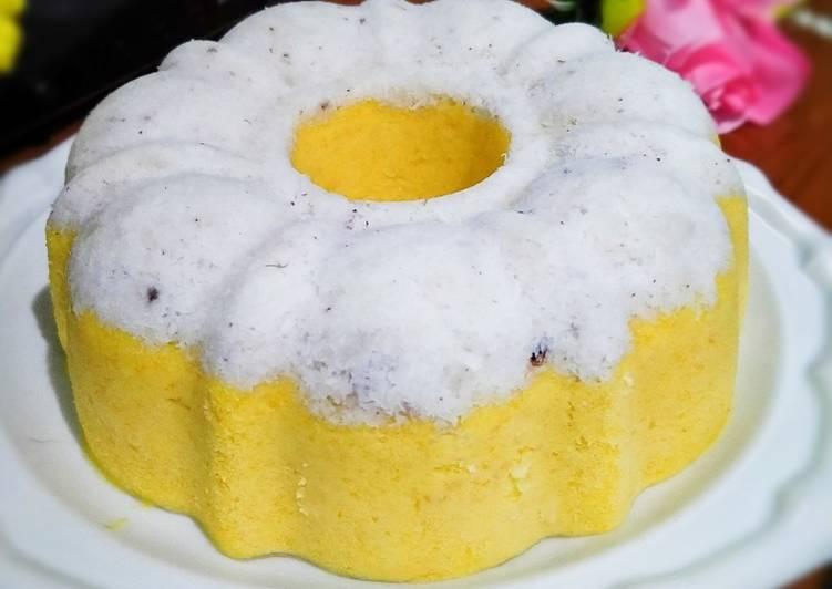 Resep Putu ayu labu kuning