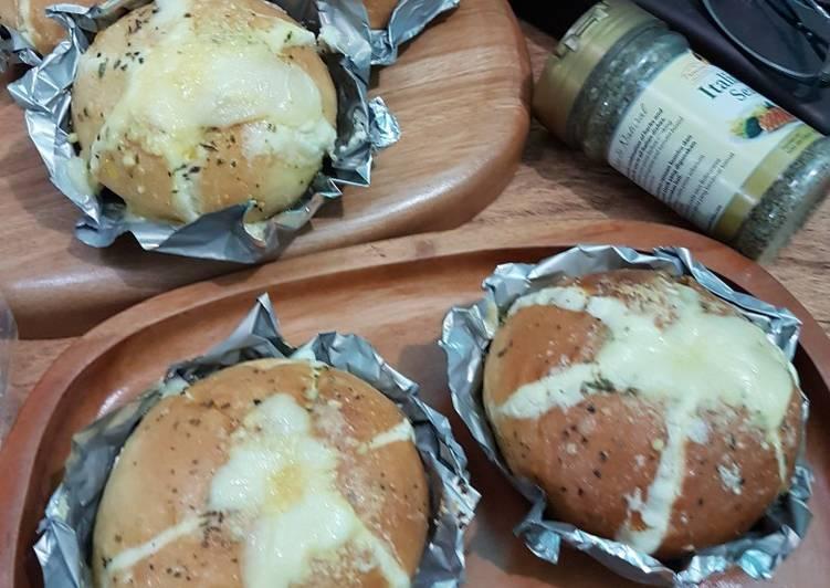 Resep 1Cream Cheese Garlic Bread