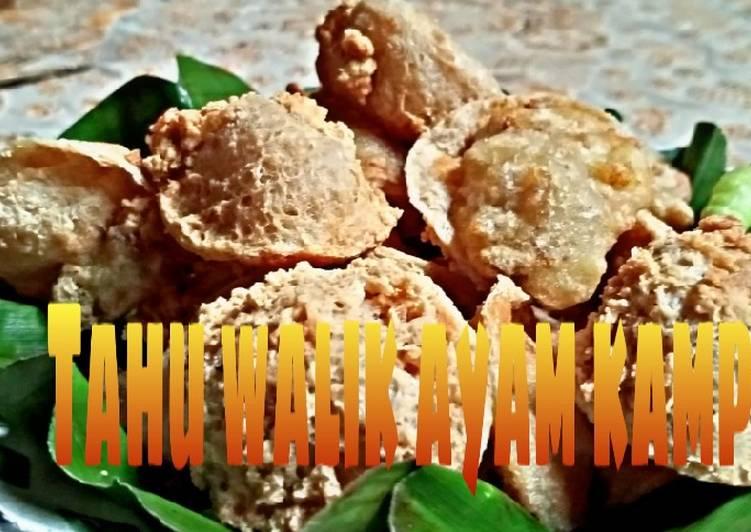 Resep Tahu walik Ayam kampung Kres