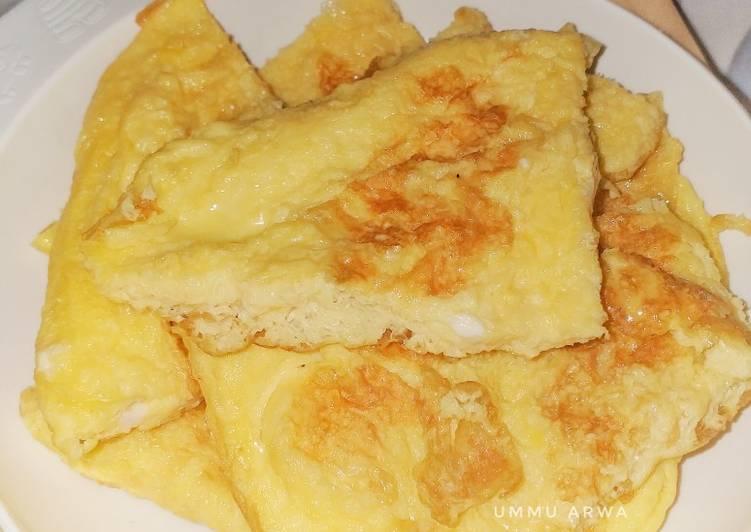 Resep Telur dadar original #27