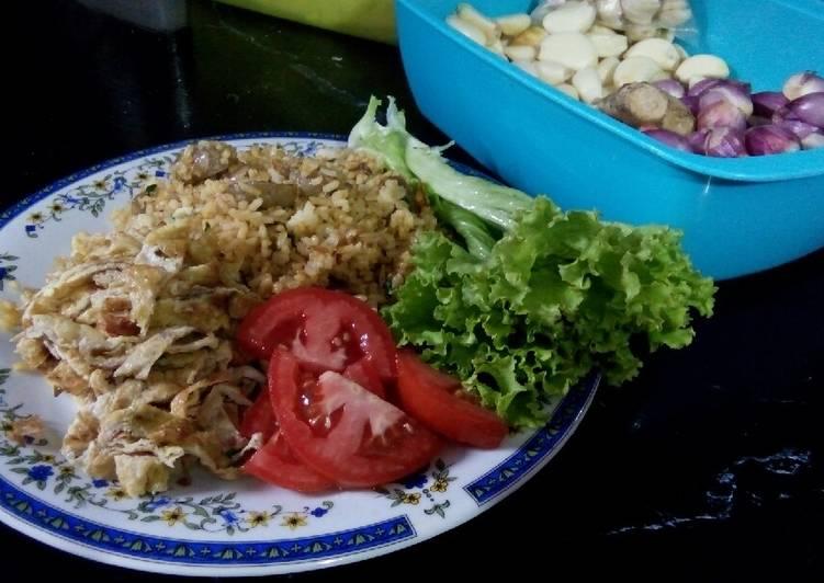 Resep Nasi Goreng Bawang Bakso