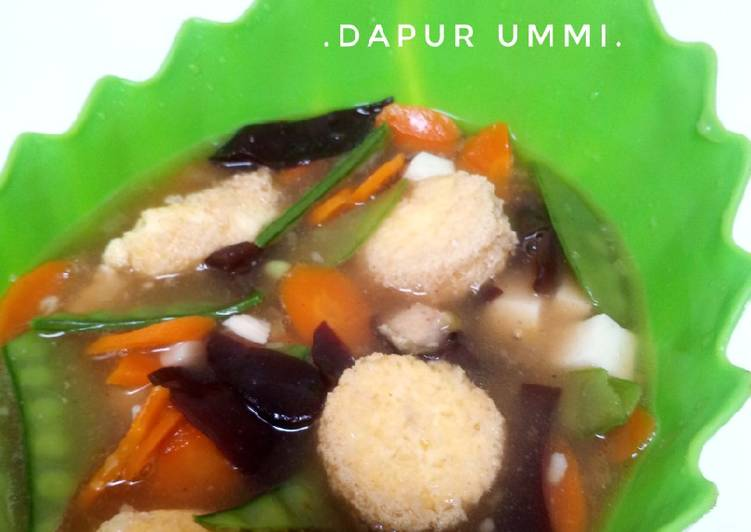 Resep Sapo Tahu
