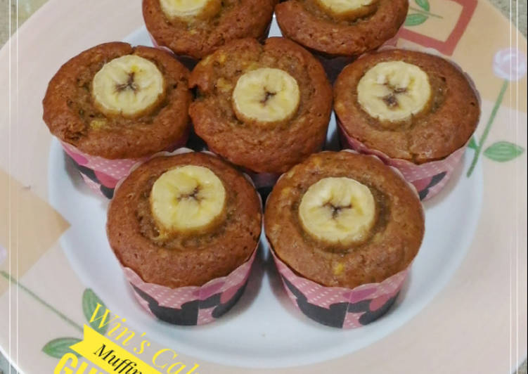 Resep Muffin Pisang Gula Palem
