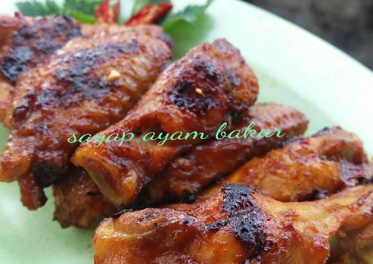 Resep Sayap Ayam Bakar