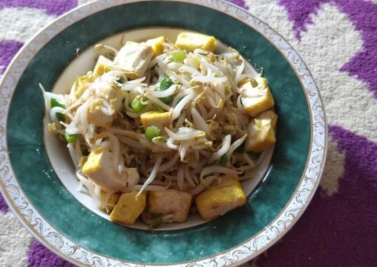 Resep Oseng Toge Tahu