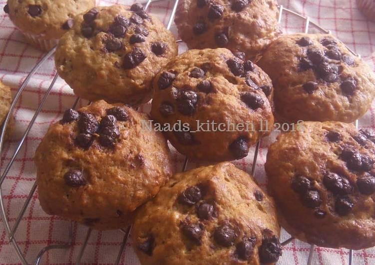 Resep Banana muffin (muffin pisang) #BikinRamadanBerkesan