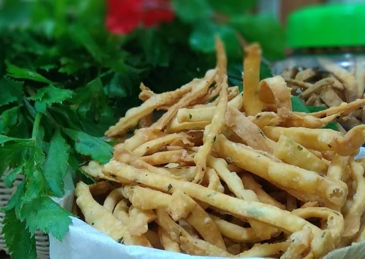 Resep Stick keju daun seledri