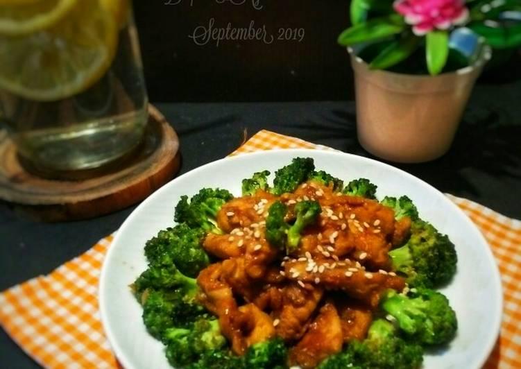 Resep Tumis Ayam Kecap Brokoli