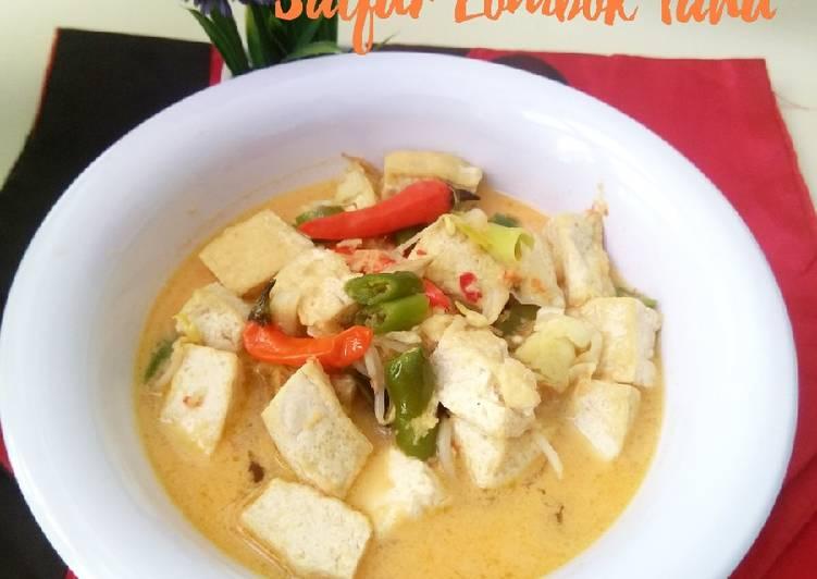 Resep Sayur Lombok Tahu
