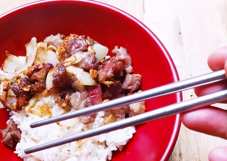 Resep Oseng Daging Bawang Putih