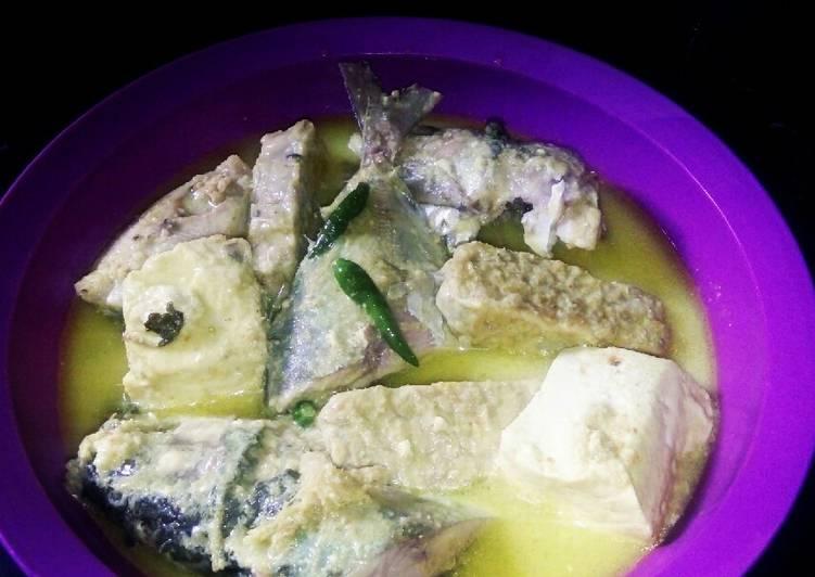 Resep Gulai Ikan mix Tahu Tempe