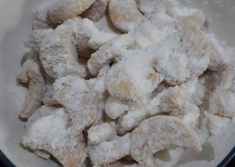 Resep Cookies Putri Salju