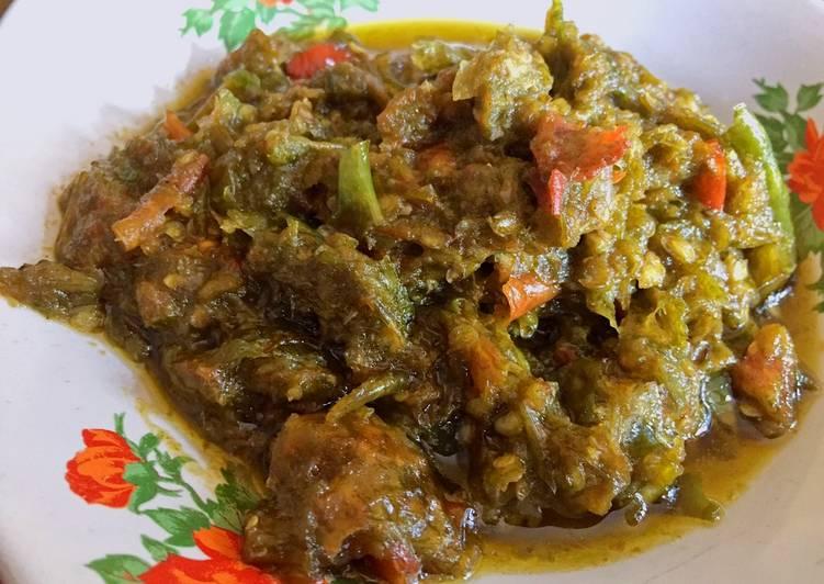 Resep Sambal goreng cabai hijau