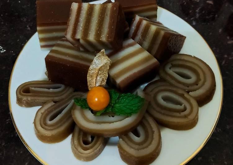 Resep Kue Lapis Coklat Mochaccino