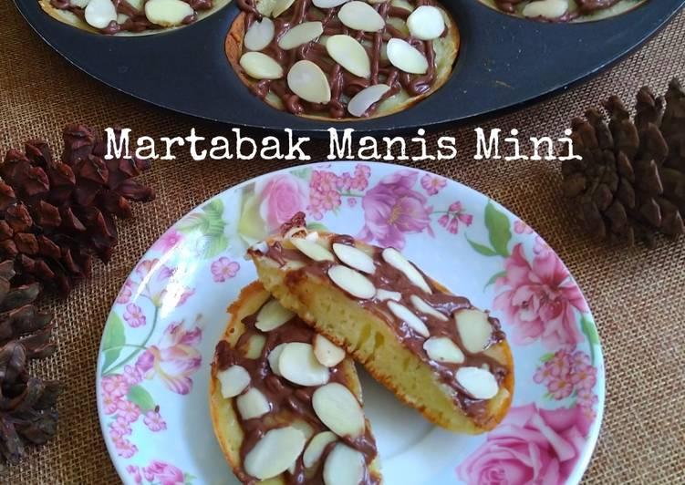 Resep Martabak Manis Mini