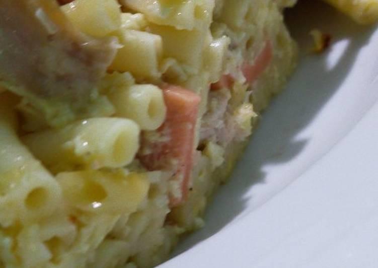 Resep Macaroni schotel ala mami