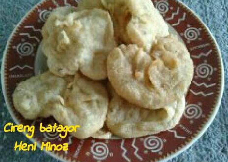 Resep Cireng batagor