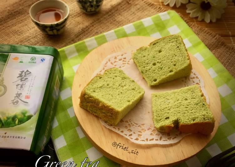 Resep Green tea Chiffon