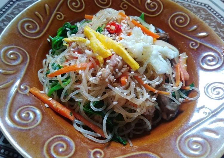 Resep Korean Japchae