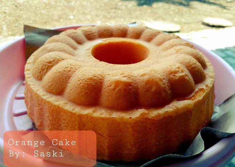 Resep Orange Cake Simpel