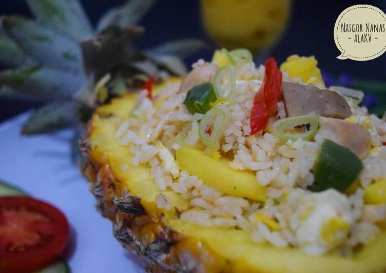 Resep Nasi Goreng Nanas khas Thailand