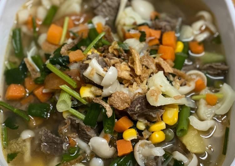 Resep Simple sup