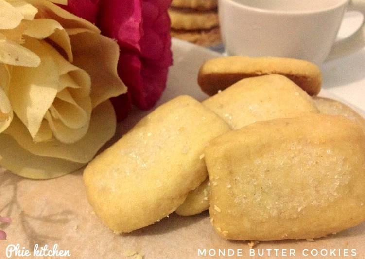 Resep Monde Butter Cookies - Simple renyah #6