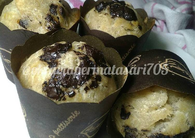 Resep Muffin pisang Gluten free eggles #maree
