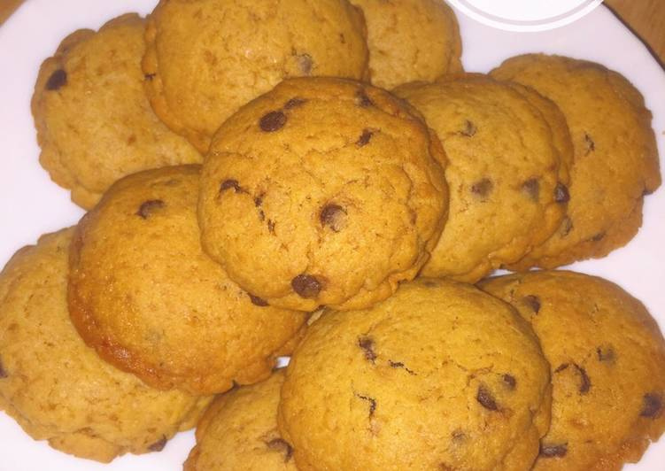 Resep Soft Cookies With Banana Strawberry Filling