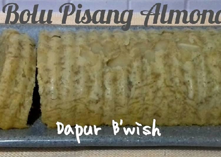 Resep Bolu Pisang Almond