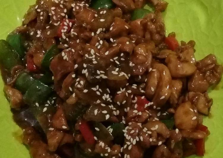 Resep Ayam Teriyaki Paprika DEBM
