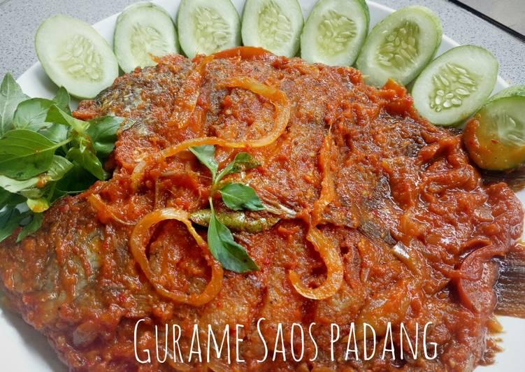 Resep Gurame Saos Padang