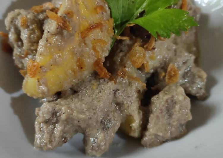 Resep Daging Masak Putih ala Yusra