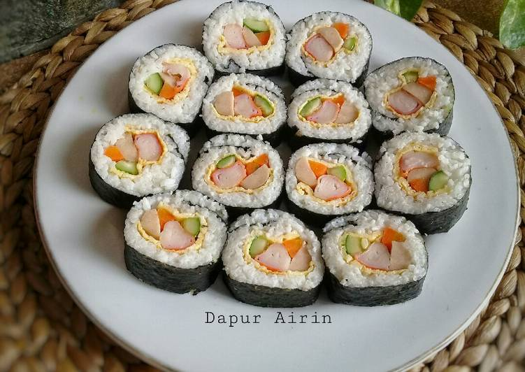 Resep Sushi Roll