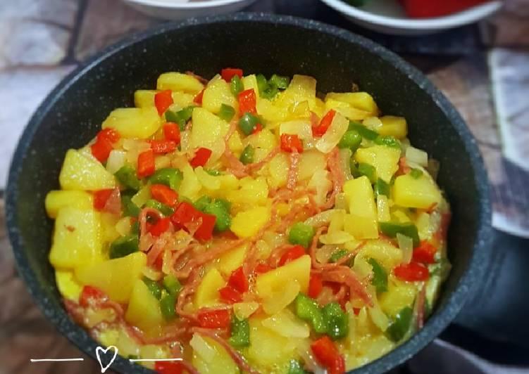Resep Omelet Spanyol