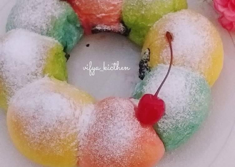 Resep Roti Manis Rainbow