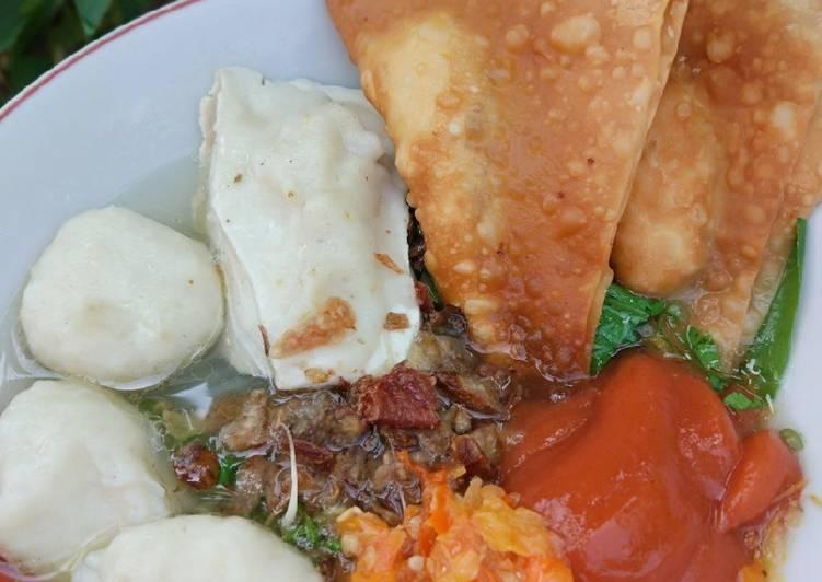 Resep Bakso ayam + Tahu Home made