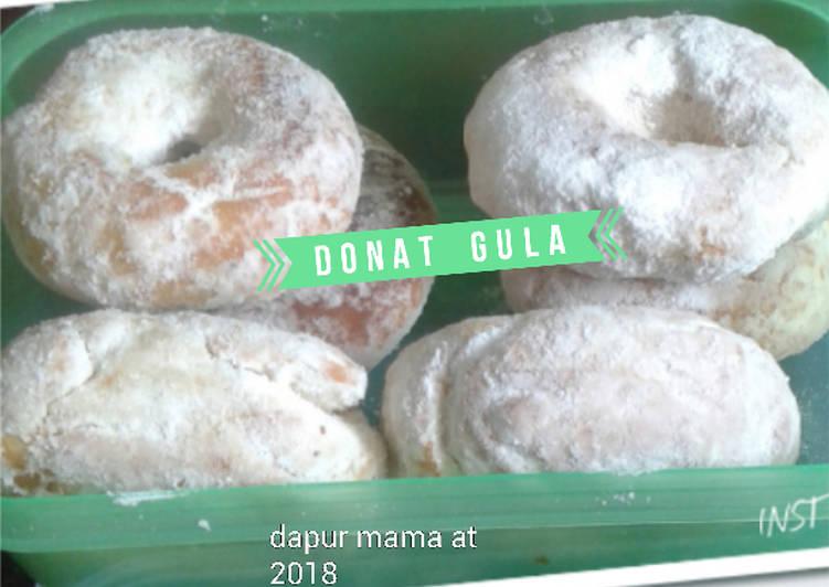 Resep Donat Gula #kamismanis