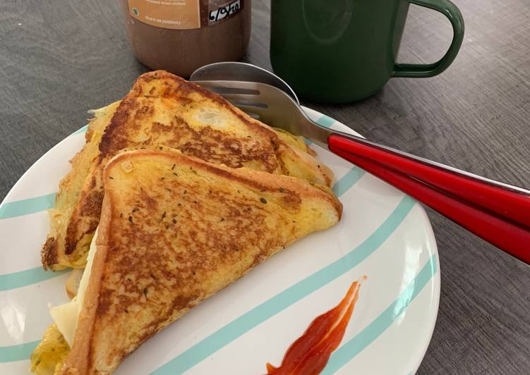 Resep French Toast Sandwiches
