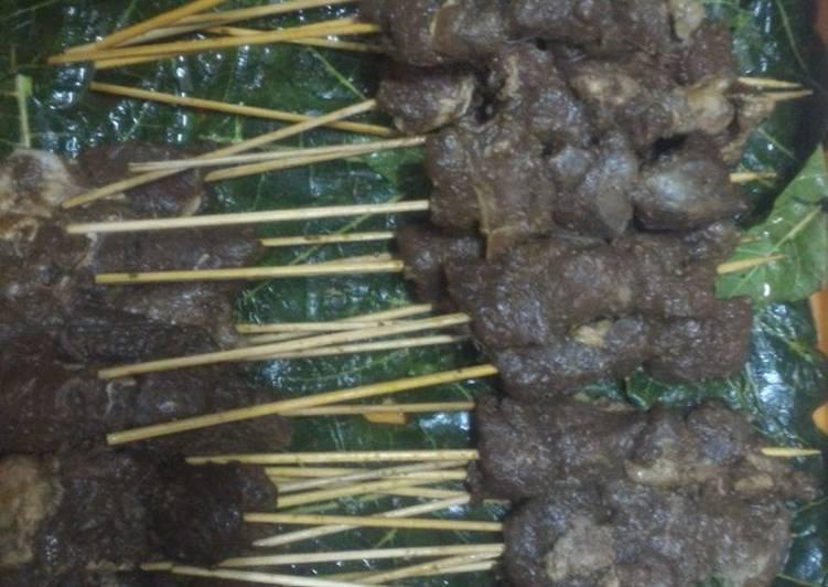 Resep Sate maranggi daging domba