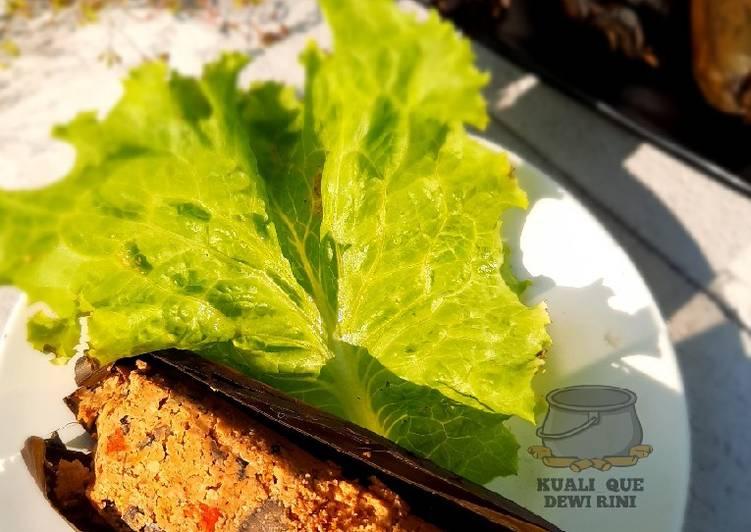 Resep Pepes Telor ikan Jamur Merang