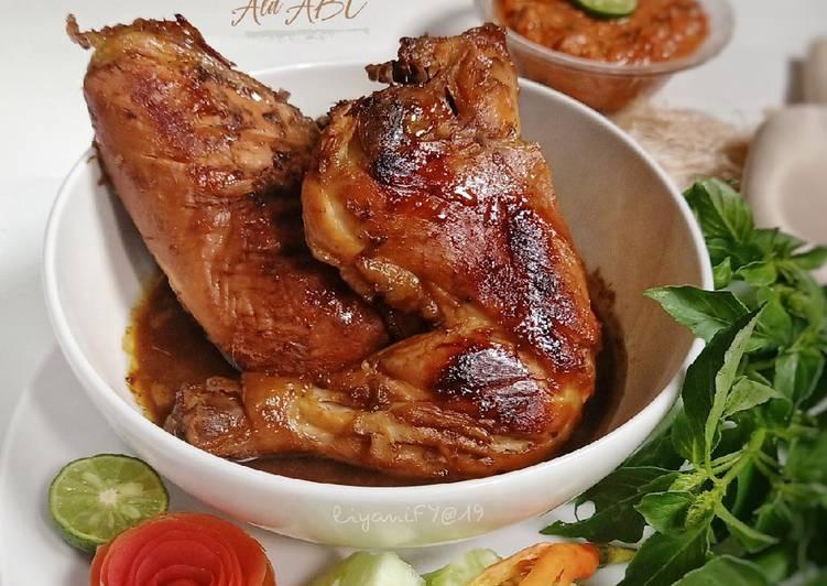Resep Ayam Bakar ala ABC