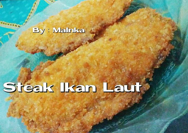 Resep Steak Ikan (Katsu Ikan Laut)