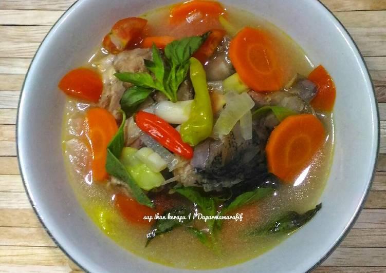 Resep Sup ikan kerapu