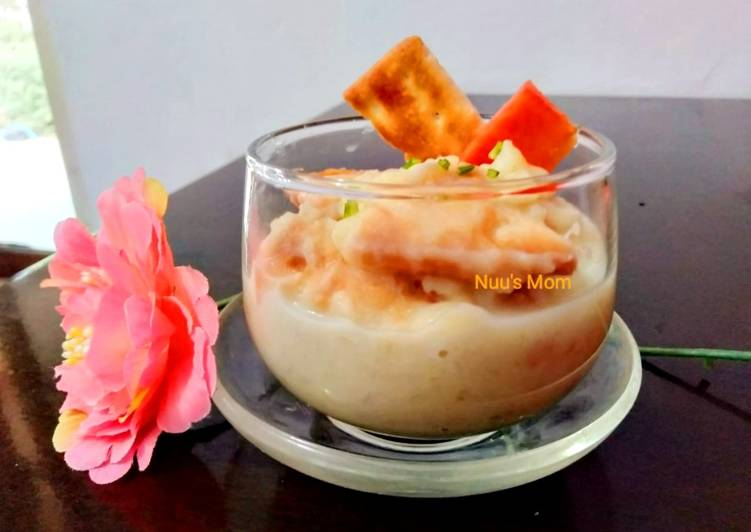 Resep Potatoes Soup with Saltine Crackers